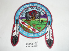 Section / Area NC1A Order of the Arrow Conference Feather Patch, 1985
