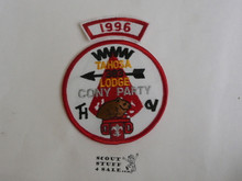 Tahosa O.A. Lodge #383 Lodge Cony Party 1996 Segment Patch, Only Segment Included