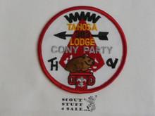 Tahosa O.A. Lodge #383 Lodge Cony Party Patch #2