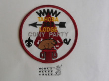 Tahosa O.A. Lodge #383 Lodge Cony Party Patch