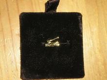 Wood Badge Axe/log Lapel Pin - Scout