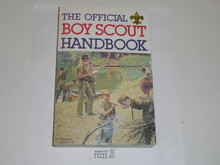 1982 Boy Scout Handbook, Ninth Edition, sixth Printing, Inscribed and Signed by Bill Hillcourt, MINT condition, Last Norman Rockwell Cover