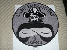 2010 Camp Emerald Bay Large Jacket Patch