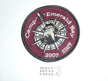 2007 Camp Emerald Bay STAFF Patch