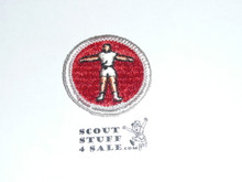 Personal Fitness - Type G - Fully Embroidered Cloth Back Merit Badge (1961-1971)