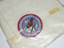 Charles L. Sommers Wilderness Canoe Base Neckerchief, BSA at bottom of patch