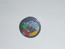 Malibu O.A. Lodge #566 Round pin from 1980's - Scout