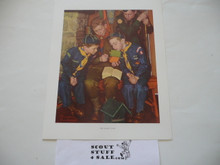 Norman Rockwell, The Right Way, 11x14 On Heavy Cardstock