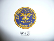 Troop Committee Patch (TC3), 1970-1972