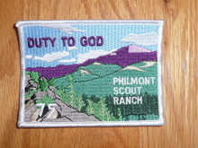 Special Philmont Scout Ranch 75th Anniversary Duty to God Patch