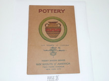 Pottery Merit Badge Pamphlet , 3-32 Printing