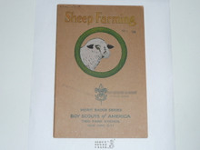 Sheep Farming Merit Badge Pamphlet , 1-38 Printing