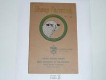 Sheep Farming Merit Badge Pamphlet , 1-38 Printing