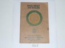Music & Bugling Merit Badge Pamphlet , 11-36 Printing