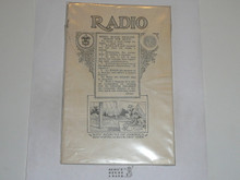 Radio Merit Badge Pamphlet
