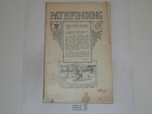 Pathfinding Merit Badge Pamphlet, 1925 Printing