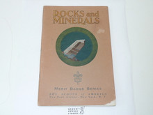 Rocks & Minerals Merit Badge Pamphlet , 4-38 Printing