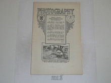 Photography Merit Badge Pamphlet, 1924 Printing