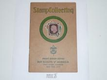 Stamp Collecting Merit Badge Pamphlet , 1-35 Printing