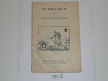 Horsemanship Merit Badge Pamphlet, 1920
