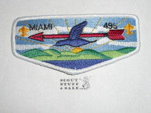 Order of the Arrow Lodge #495 Miami s Flap Patch - Scout