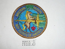 Western Region Patch - Mylar bdr