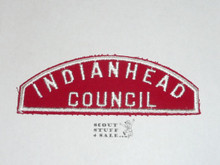 Indianhead Council Red/White Council Shoulder Patch - Boy Scout