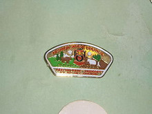 Nevada Area Council 1985 NJ JSP Shaped Pin - Scout