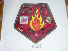 2010 National Jamboree JSP - Unknown Council Jacket Patch
