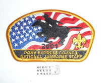 2001 National Jamboree JSP - Pony Express STAFF Council