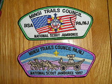 1997 National Jamboree JSP - Minsi Trails Cncl - 2 Diff
