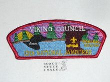 1993 National Jamboree Viking Council JSP Shoulder Patch - Scout