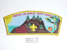 1993 National Jamboree JSP - Western Los Angeles County Council JSP, yellow bdr