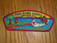 1993 National Jamboree JSP - Twin Rivers Council