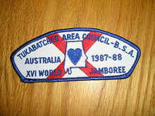 1987-88 World Jamboree JSP - Tukbatchee Area Council