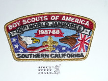 1987-1988 Boy Scout World Jamboree USA Southern California Contingent JSP