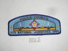 1985 National Jamboree Yucca Council JSP Shoulder Patch - Scout