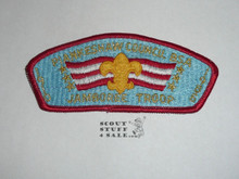 1985 National Jamboree Piankenshaw Council JSP Shoulder Patch - Scout