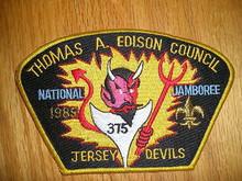 1985 National Jamboree JSP - Thomas A. Edison Council