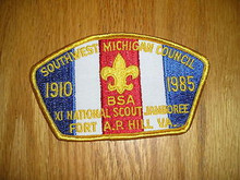 1985 National Jamboree JSP - Southwest Michigan Council