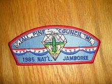 1985 National Jamboree JSP - Tall Pine Council
