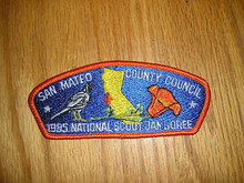 1985 National Jamboree JSP - San Mateo County Council
