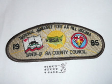 1985 National Jamboree JSP - Santa Clara County Council
