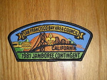 1981 National Jamboree JSP - San Francisco Area Council