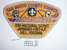 1981 National Jamboree JSP - San Mateo County Council