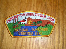 1981 National Jamboree JSP - Monterey Bay Area Council