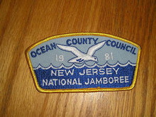 1981 National Jamboree JSP - Ocean County Council