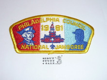 1981 National Jamboree JSP - Philadelphia Council Contingent