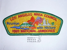 1981 National Jamboree JSP - Los Angeles Area Council