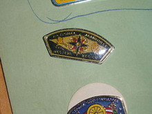 1977 NJ Western Region JSP Shaped Pin - Scout